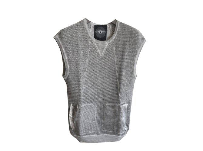 Damir Doma Silent damir doma sweater Sweaters Cotton Grey ref.69425