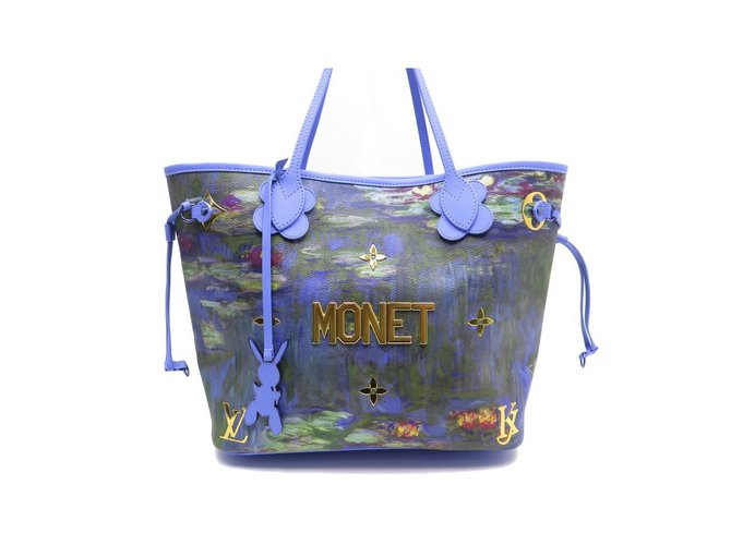 Louis Vuitton Never full Masters Monet Handbags  Leather,Synthetic,Metal,Plastic,Cloth ddcd85563a7