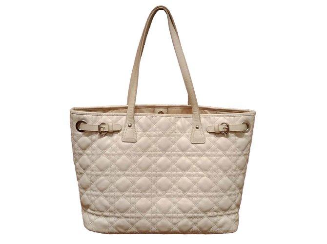 e9344e72d15 Christian Dior Panarea Totes Cloth White ref.69644 - Joli Closet