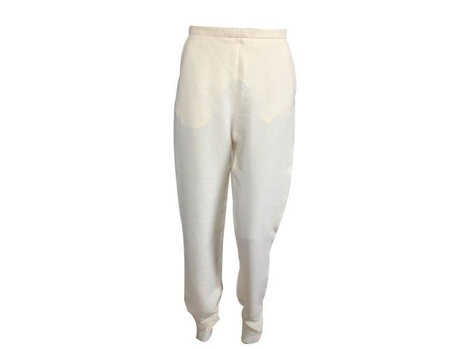 Chloé Pants Yellow Acetate  ref.69759