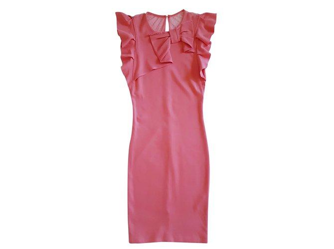 70147 Joli Red Rose Valentino Robe Ref Closet Viscose Robes xHwzY0q
