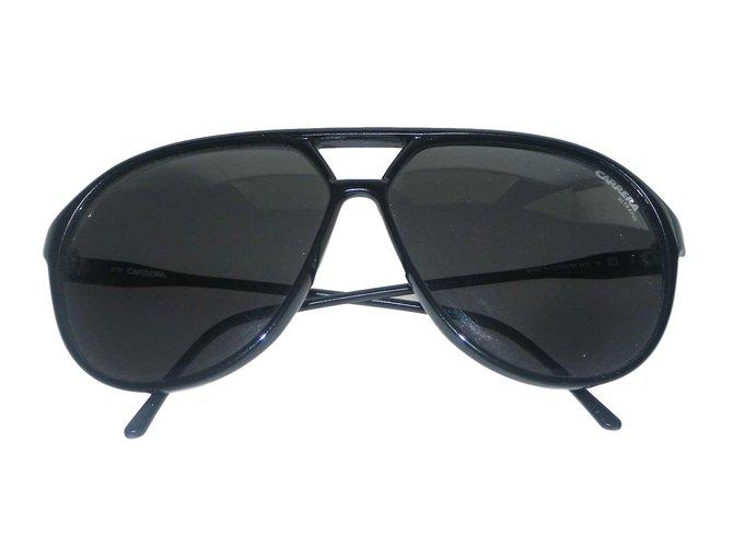 012f24932db89 Carrera Aviateur Country collection 95 96 Sunglasses Metal Black ref.70200