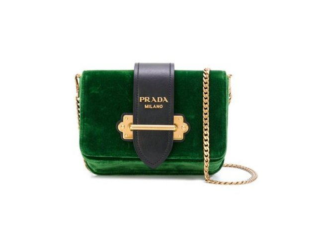 482adef99bfb Prada CAHIER Handbags Leather