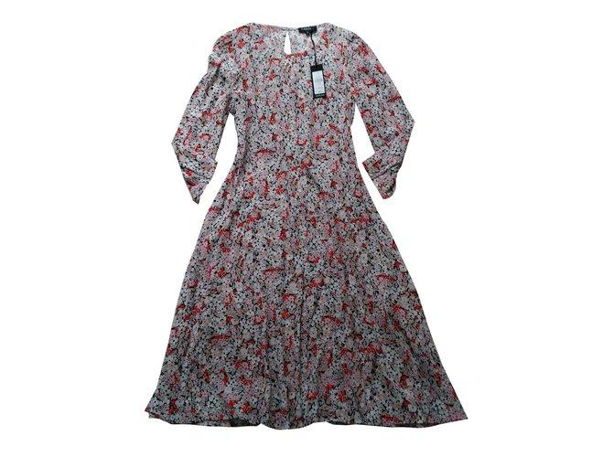Robes CAROLL OPALE ANAIS Viscose Multicolore ref.70489 - Joli Closet 747abf08b7c