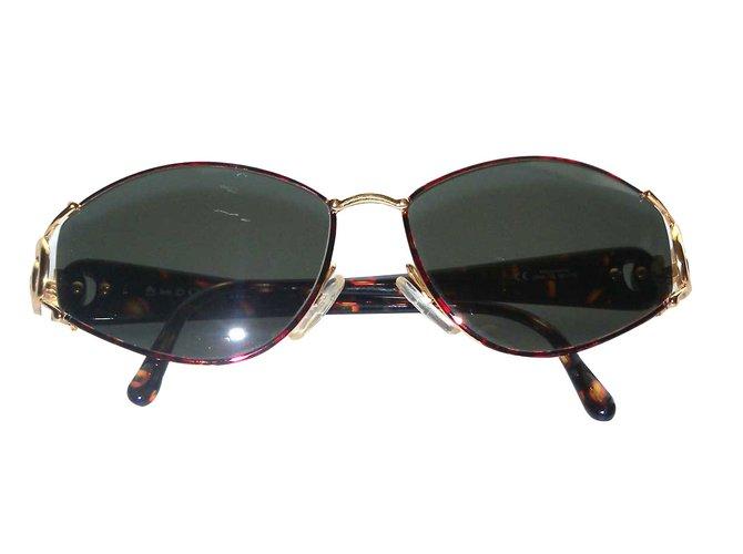 6e3ff0807a Christian Dior Sunglasses Sunglasses Metal Brown