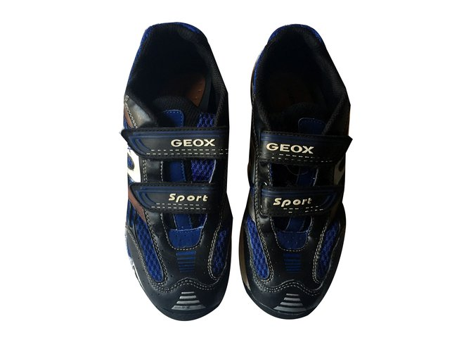 Geox Sneakers Sneakers Leather Blue ref.70755