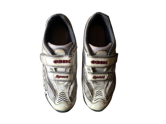 Geox Sneakers Sneakers Patent leather White ref.70756