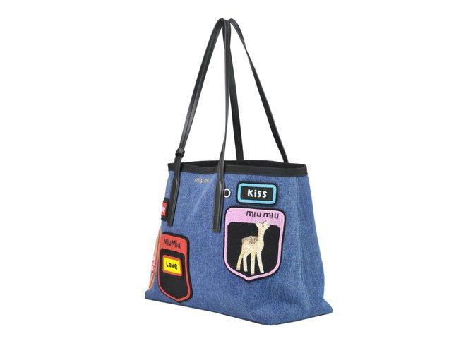 Miu Bag Handbags Other Blue Ref 71190