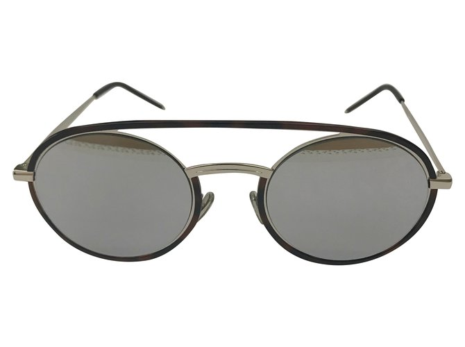 06cebabd21 Dior Sunglasses Sunglasses Metal Brown