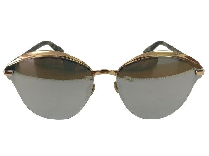 ccd571da8b6 Dior Sunglasses Sunglasses Metal Golden ref.71416 - Joli Closet