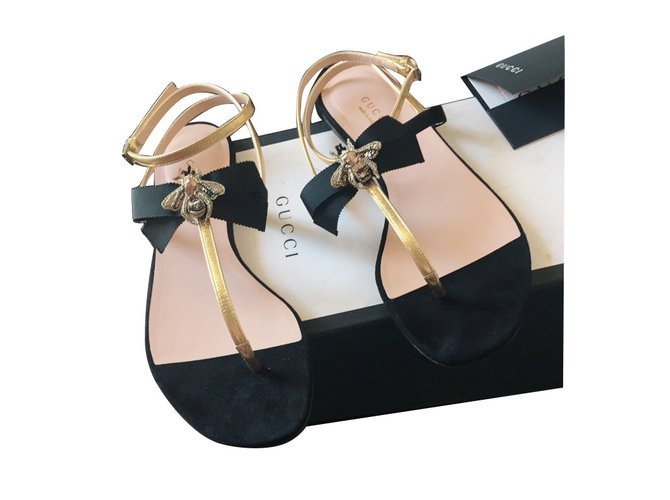 6abb3a627b10 Gucci Gucci flat sandal bee model 2018 Sandals Other Black