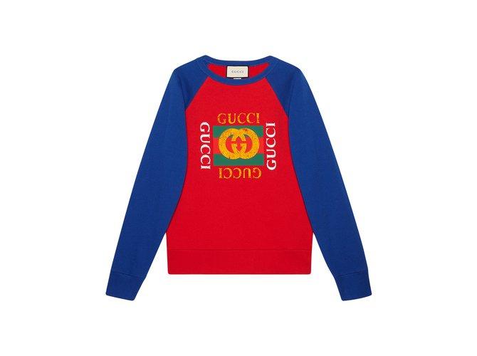 c1247551 Oversize sweatshirt with Gucci logo