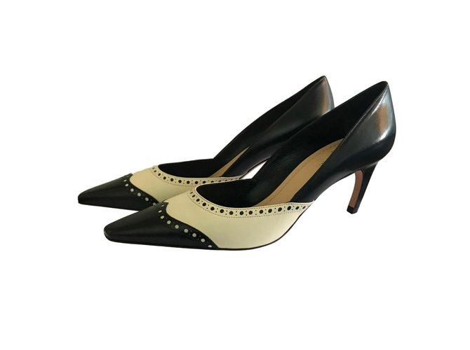 a8b0987a570 Christian Dior Heels Heels Leather Black