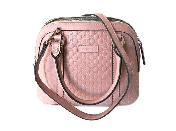 b01faed24 Gucci Handbags Handbags Leather Pink ref.73616 - Joli Closet