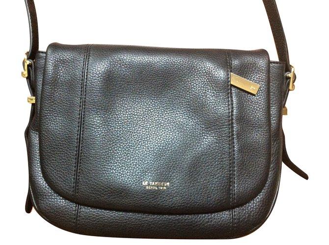 913ee24e7f Le Tanneur Handbags Handbags Leather Black ref.73675 - Joli Closet