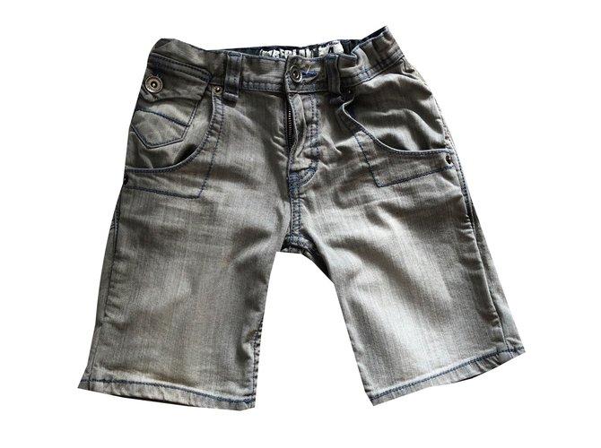 Timberland Boy Short Boy Shorts Denim Grey ref.73968