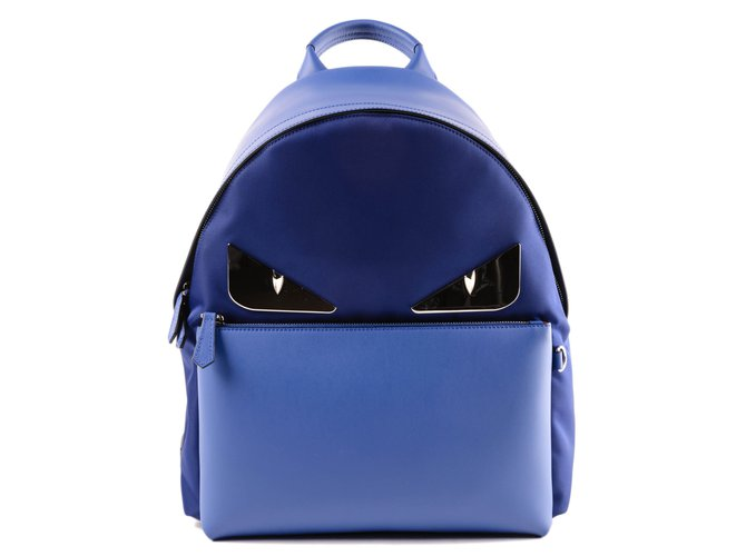b6e943ed30fe Fendi Backpack Bags Briefcases Other Blue ref.74052 - Joli Closet