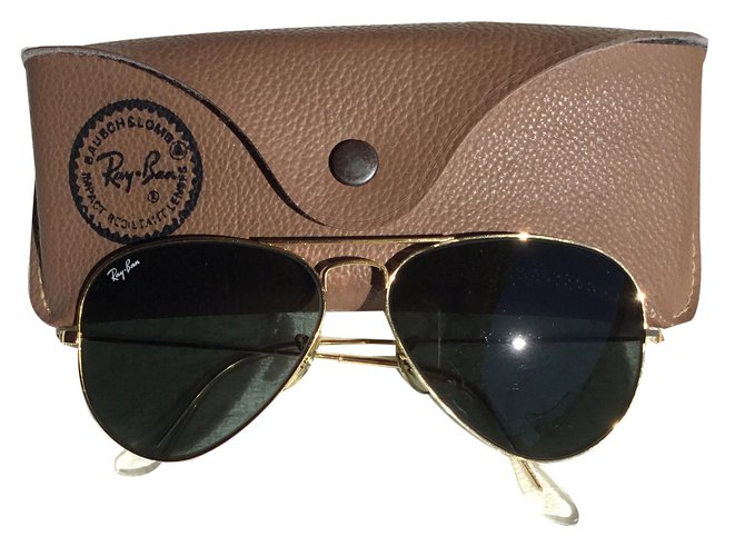lunette ray ban homme or