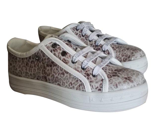 Ikks sneakers Sneakers Leather Grey ref.74433