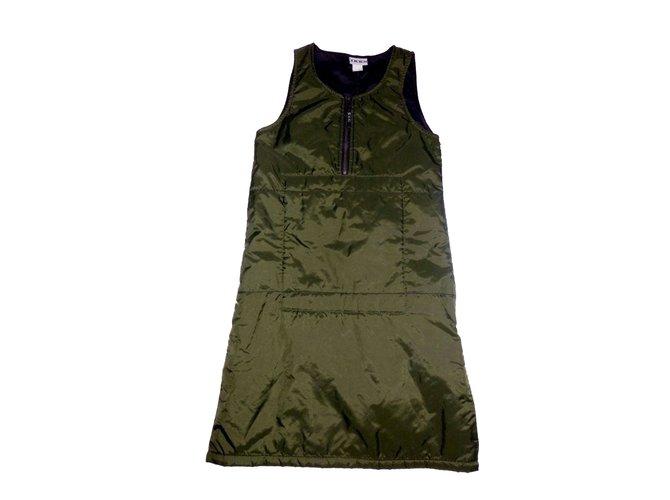 Ikks Dress Dresses Polyamide Green ref.74439