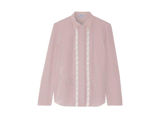 f32725b1726efe Prada Blouse Tops Silk Pink ref.74751 - Joli Closet