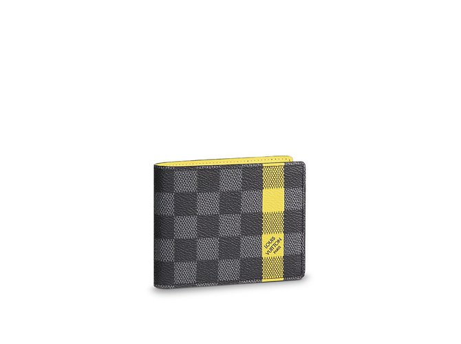 Louis Vuitton Slender mens wallet new Wallets Small accessories Leather  Other ref.74854 b4f158e45c858