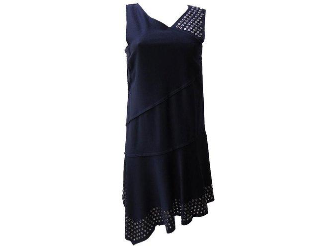 Robes Roberto Cavalli Robes Soie,Cachemire,Laine Noir ref.75056 ... 787dba05da78