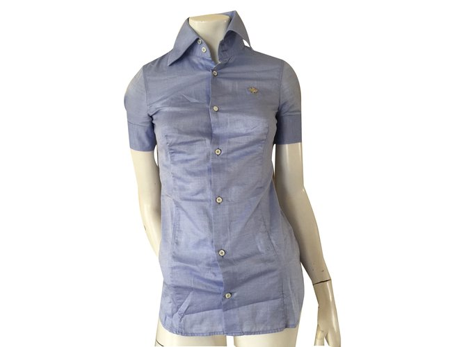 Tops Dsquared2 Tops Coton Bleu ref.75250