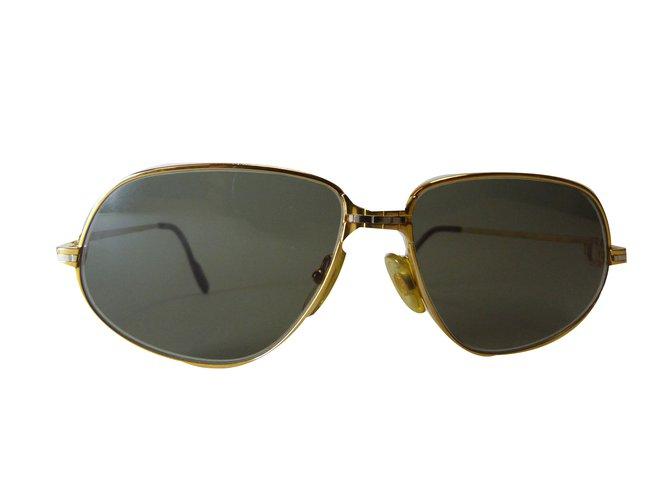 1199cf50c6 Cartier Sunglasses Sunglasses Metal Golden ref.75483 - Joli Closet