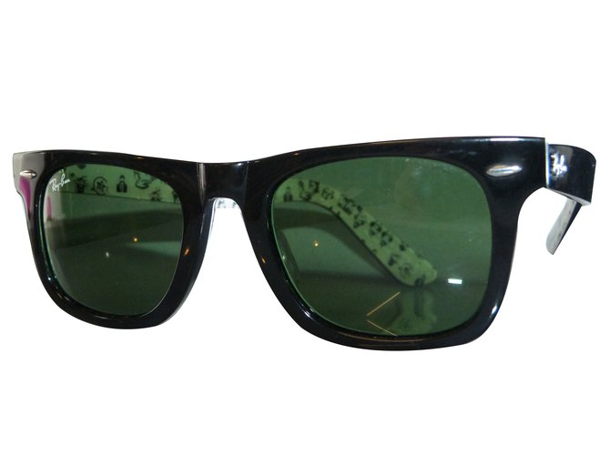 ray ban plastique homme