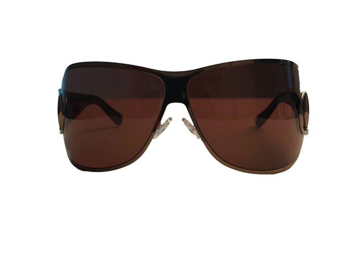 abbbf827a5 Gucci Sunglasses Sunglasses Metal Brown ref.75519 - Joli Closet