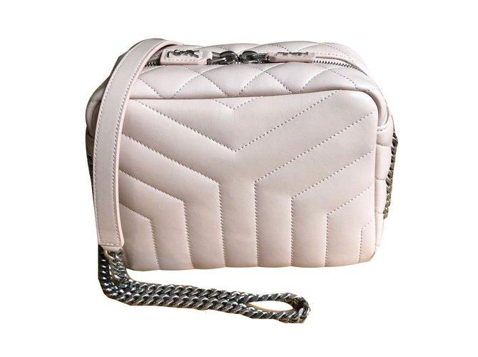 73eb8d7e9da Saint Laurent Lou Lou bag Handbags Leather Pink ref.75520 - Joli Closet
