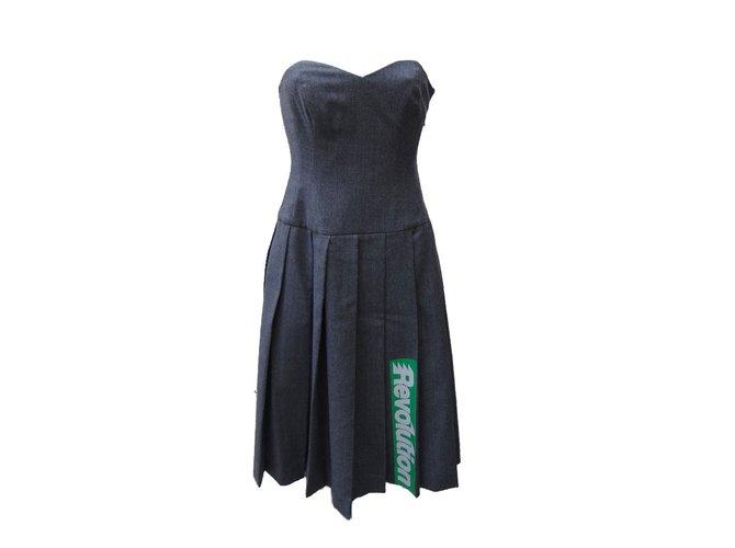 5ce4c67624dba Marc by Marc Jacobs Dresses Dresses Wool Grey ref.75546 - Joli Closet