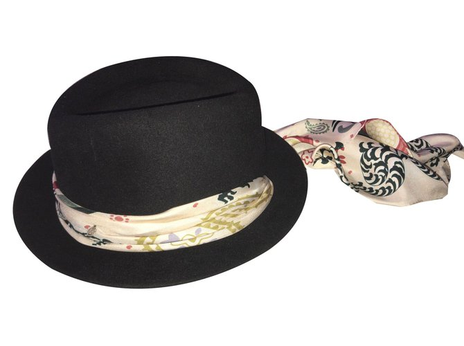 Maison Michel Hats Hats Other Black ref.75664