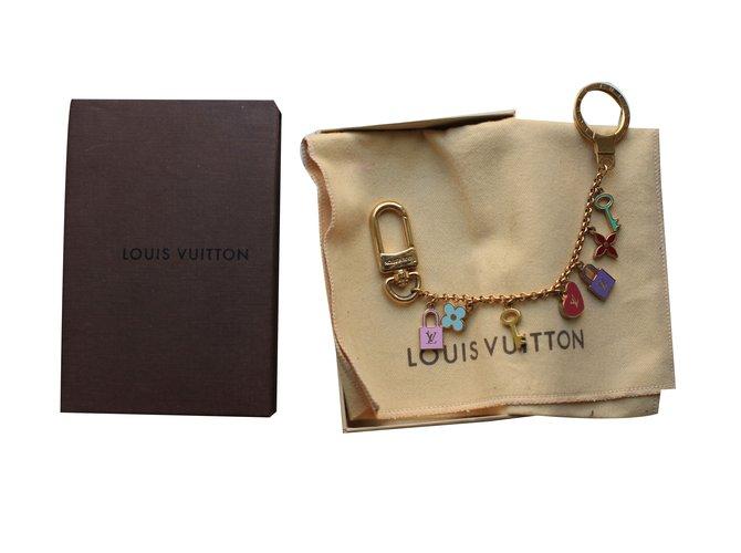 Louis Vuitton Key Holder and Bag Charm Bag charms Metal Pink 176247bb7