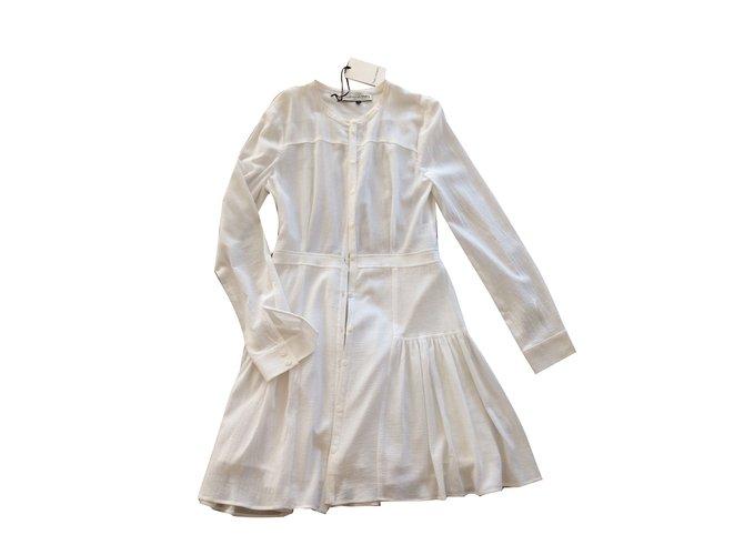 a006677312f Robes Mademoiselle Tara Robes Coton Blanc ref.75874 - Joli Closet