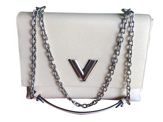 Louis Vuitton Louis Vuitton Twist GM bag Handbags Leather Beige ref.75901 9545455f2b0