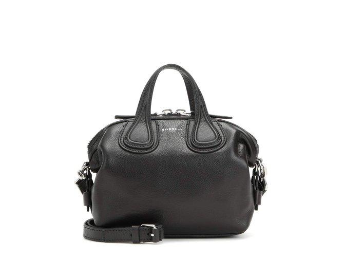 fc1c11fde1 Givenchy Nightingale Mini Bag Handbags Leather Black ref.76067 ...