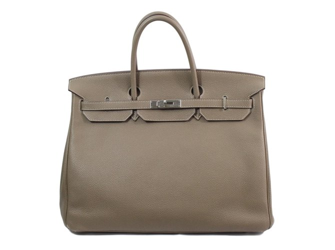 f25a81901bf ... czech hermès birkin 40 handbags leather brown ref.76199 52bd5 6363f