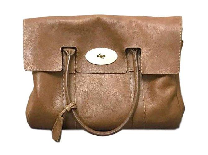 1fe9b570c7 Mulberry Handbags Handbags Leather Caramel ref.76218 - Joli Closet