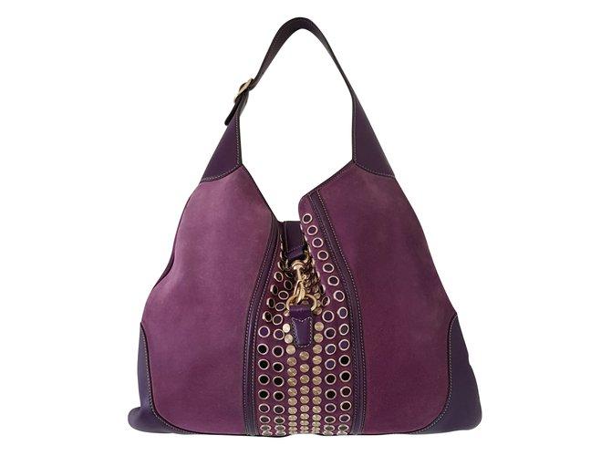 7780a7803c29 Gucci Gucci Hobo Handbags Suede