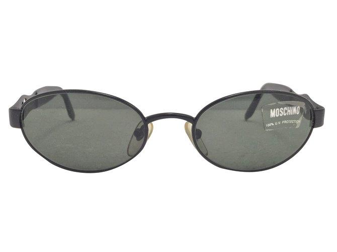 Lunettes Moschino Lunettes Métal Noir ref.76411 - Joli Closet ef4e52dc54e0