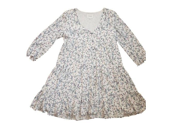 Viscose Joli 76541 Robe Robes Ref Closet Sézane Aure Blanc OPmNn0vy8w