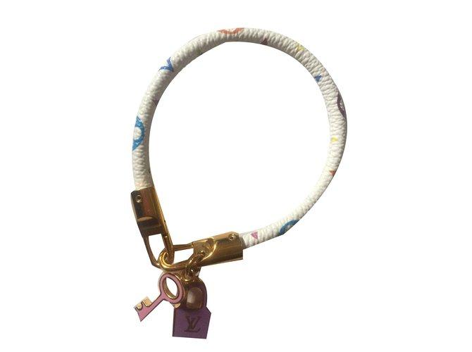 Bracelets Louis Vuitton Bracelets Autre Blanc ref.76577
