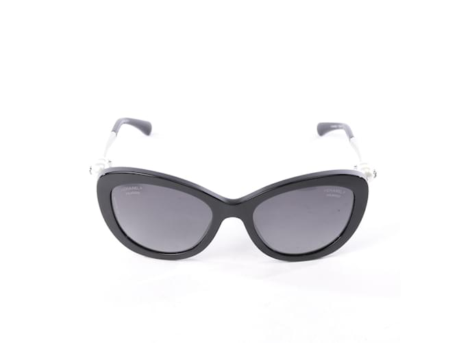 ff5eb47355 Chanel Sunglasses 5340-H Sunglasses Plastic Black ref.76601 - Joli ...