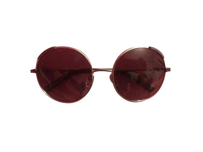 Chloé Sunglasses Sunglasses Metal,Glass Golden,Bronze,Light brown ref.76684