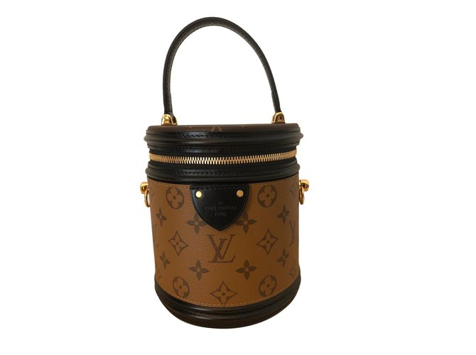 Sacs à main Louis Vuitton Sacs à main Cuir Caramel ref.76817 - Joli ... eade9324c07