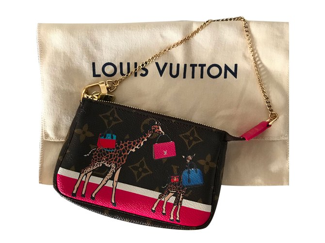 55c43793ae77 Louis Vuitton Mini pochette Accessoires Illustre Clutch bags Other Multiple  colors ref.76936