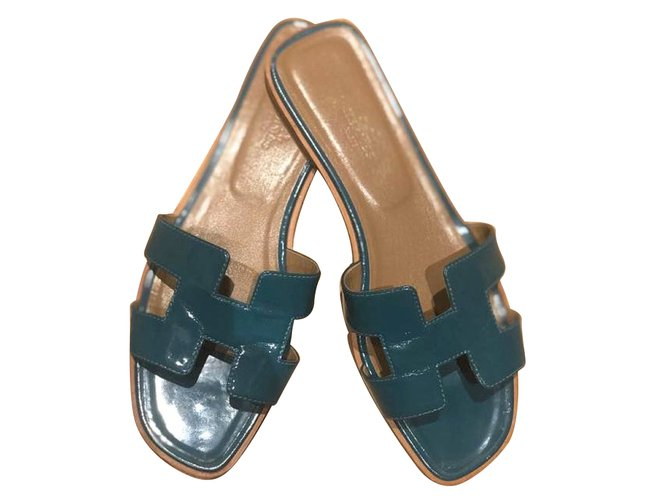 Hermès Oran sandals Sandals Patent leather Other ref.77026