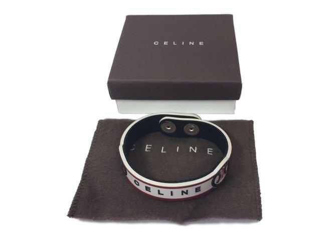 Bracelets Céline Bracelet Caoutchouc Blanc,Rouge,Bleu ref.77134